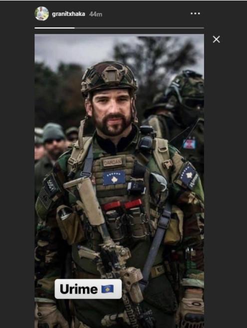 Ky është urimi i Granit Xhakës për krijimin e ushtrisë së Kosovës