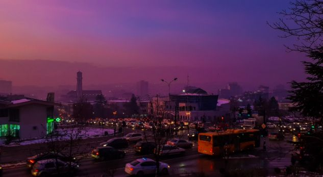 Edhe sonte Prishtina me ajër të ndotur