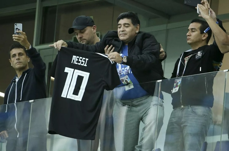 Maradona sërish godet Messin: Nuk është një lider