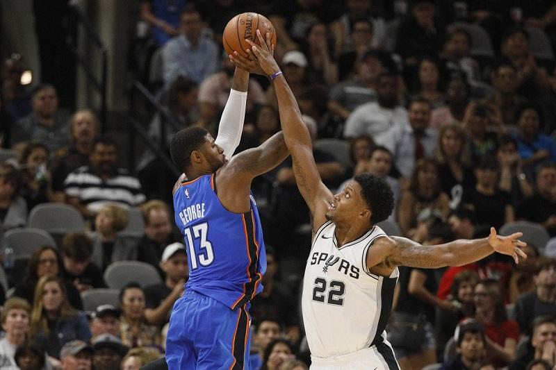 Spurs mposht Oklahomën pas dy kohëve shtesë, vendos rekordin sezonal