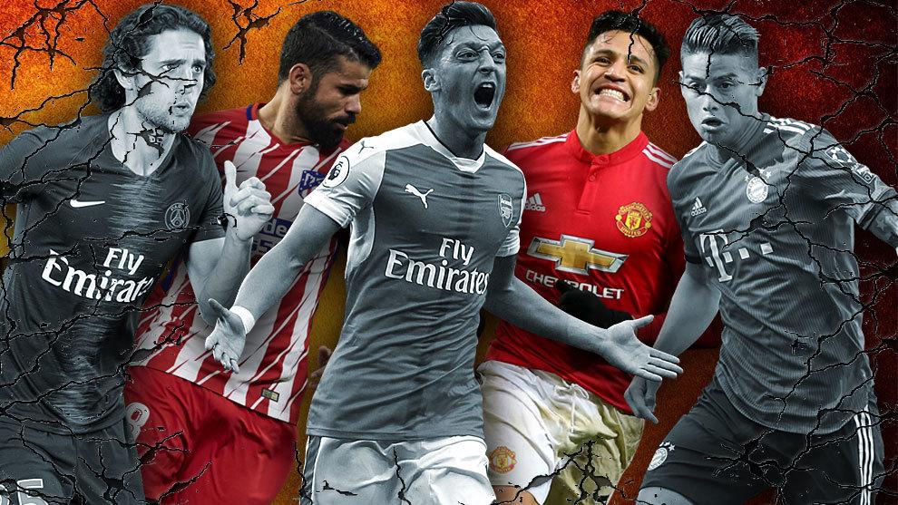 Rebelë dhe të dëmtuar, ja yjet e futbollit që janë në krizë