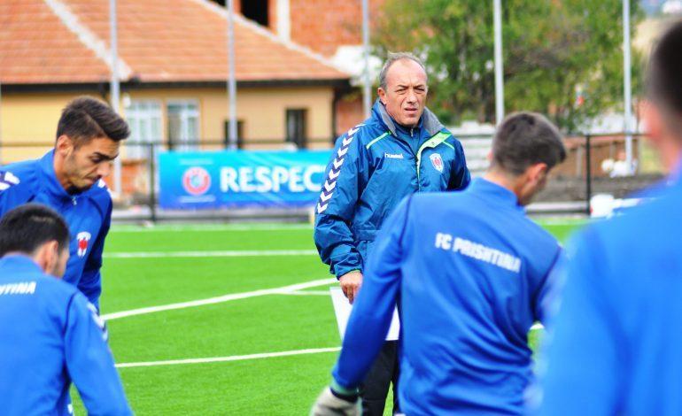 Trajneri i Prishtinës flet për transferimet, mesazh kundërshtarëve