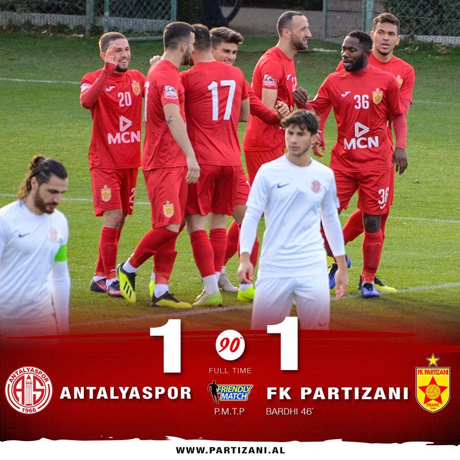 Partizani- Antalyaspor, ky është rezultati përfundimtar