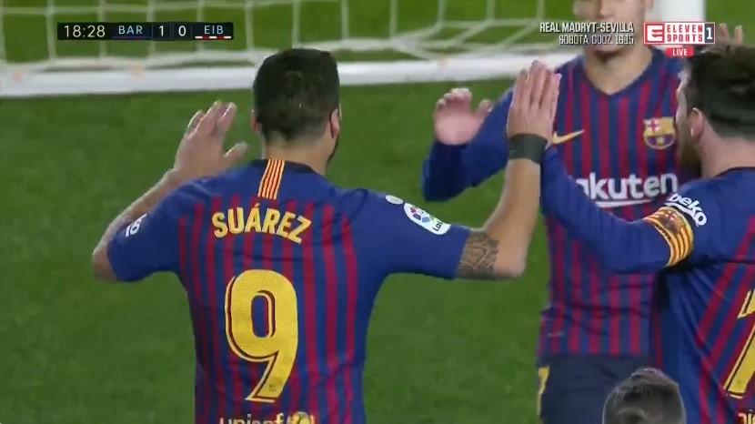 S'gabon Barcelona, mund Eibari-n
