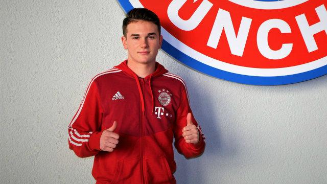Një tjetër amerikan te Bayern Munich