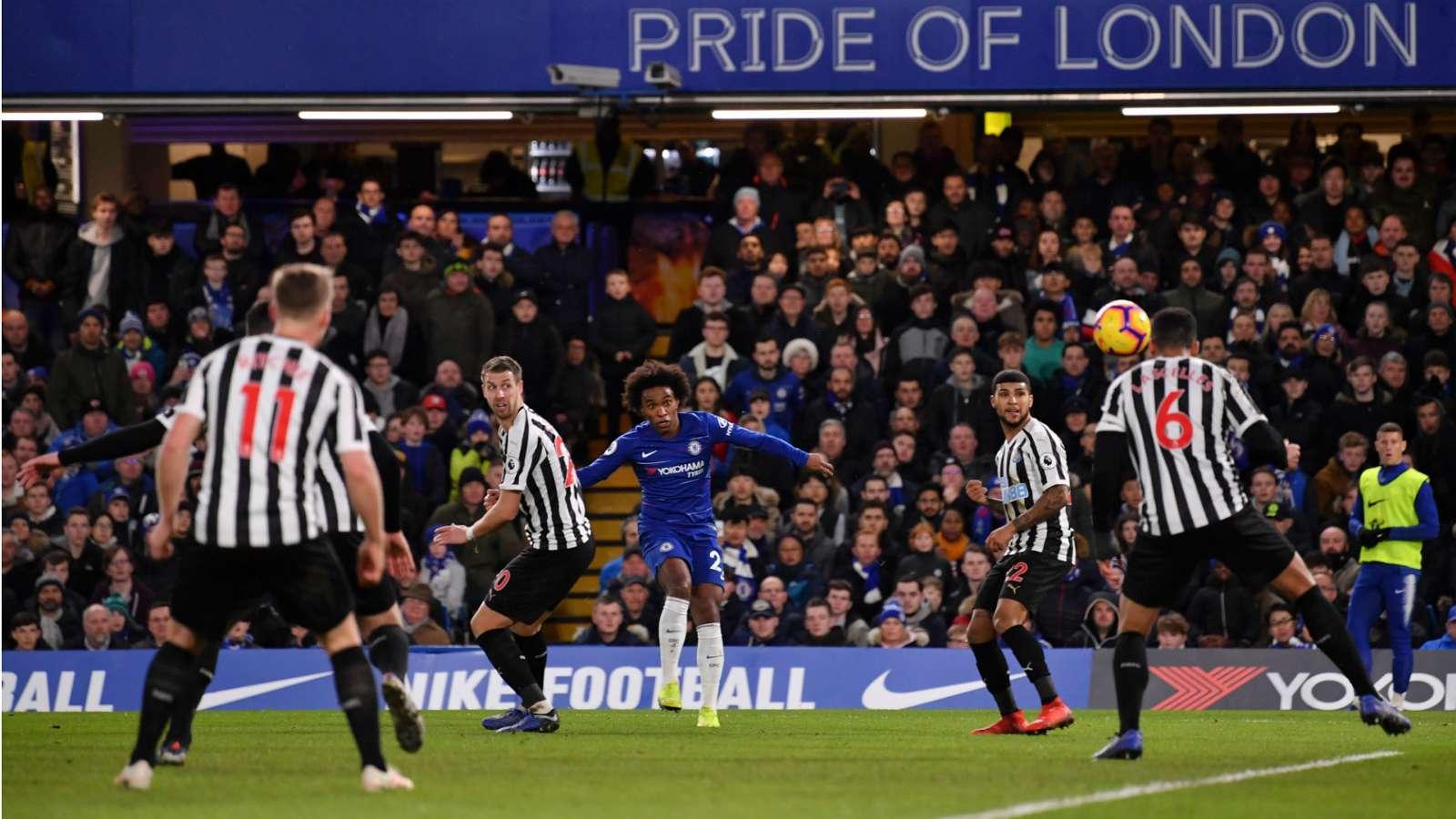 Chelsea u kthehet fitoreve, mund Newcastlen