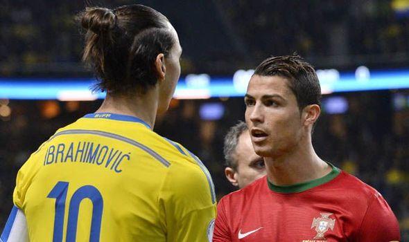 Ibra sulmon Ronaldon, ja çfarë thotë