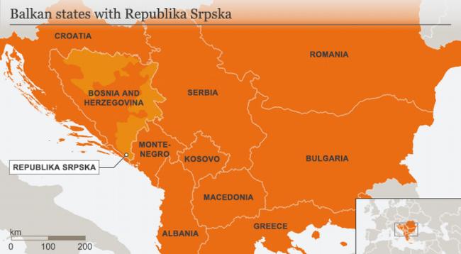 Lojërat e rrezikshme me kufijtë në Ballkan