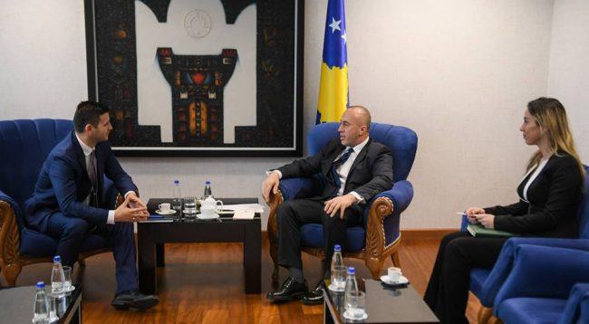 Gjendja e Telekomit, Haradinaj takon Bedri Istrefin