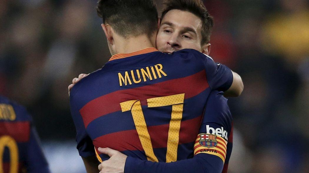 Munir lë Barcelonën për Sevillan