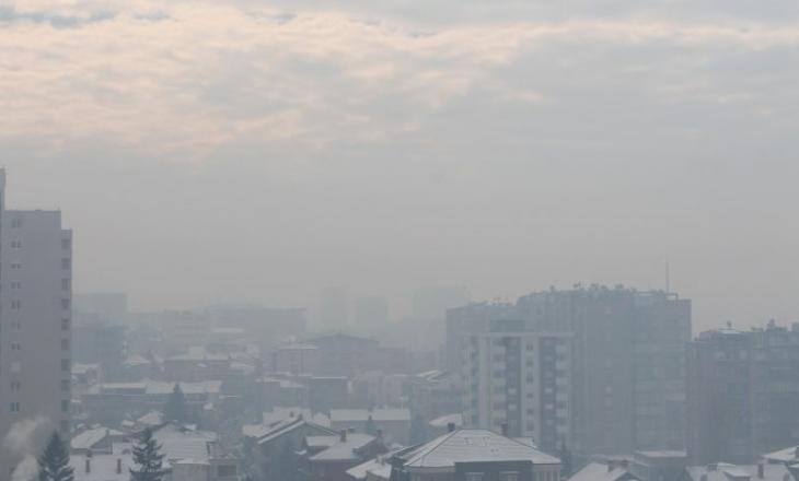 Kjo është gjendja e ajrit në Prishtinë