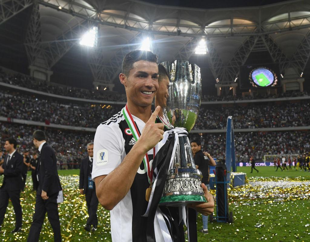 Ronaldo flet pasi fitoi trofeun e parë me Juventusin