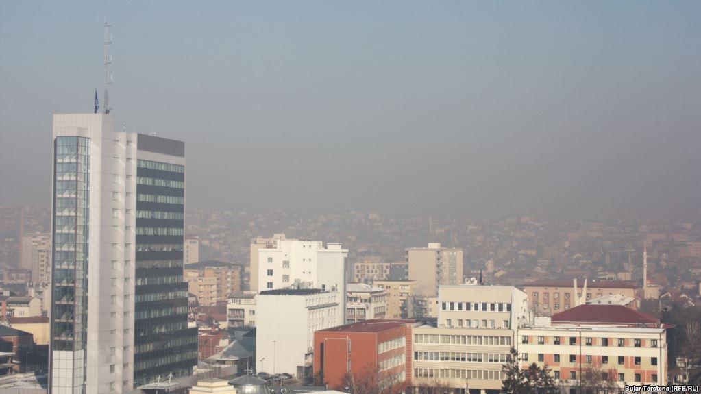 Ajri në Prishtinë vazhdon të jetë i pashëndetshëm