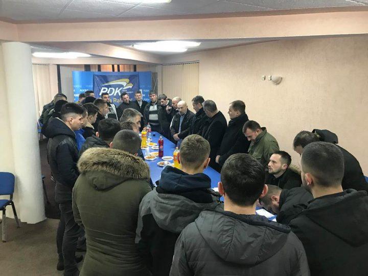 PDK-së në Rahovec i bashkohen anëtarë të rinj