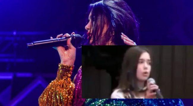 Dua publikon videon duke kënduar para 10 vitesh në shkollën e saj në Prishtinë