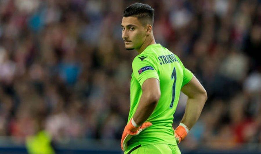 Strakosha e dërgon Lazion në gjysmëfinale të Kupës, pas penalltive me Interin