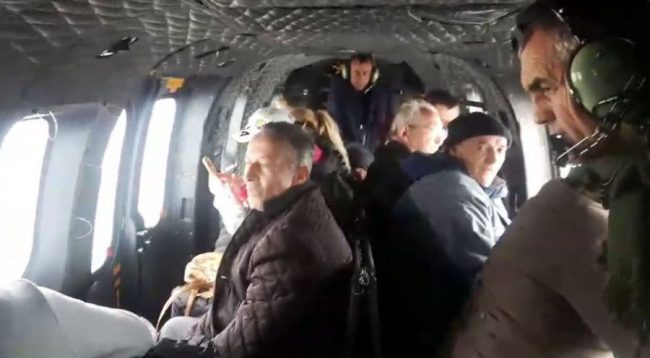 Evakuohen 15 persona të bllokuar në Theth e Shalë, mes tyre 8 mësues