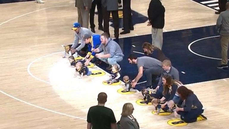 E pabesueshme: Gara me bebe, ndodh në kampionatin amerikan të basketbollit