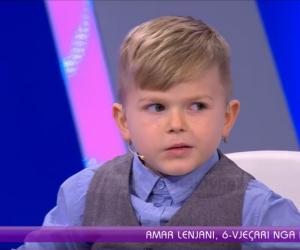 Gjeniu 6-vjeçar nga Kosova. Njeh flamujt e botës dhe flet 7 gjuhë të huaja