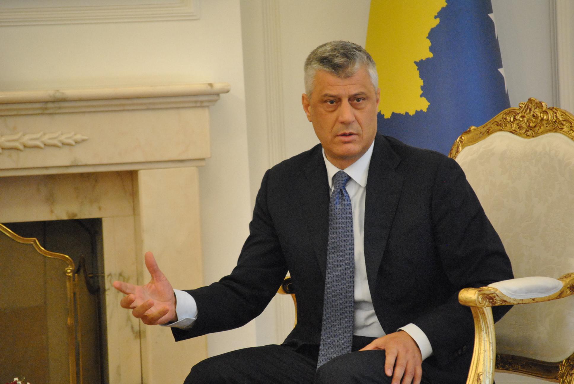 Thaçi: Nëse vazhdon dialogu, Serbia do të detyrohet që ta njohë Kosovën
