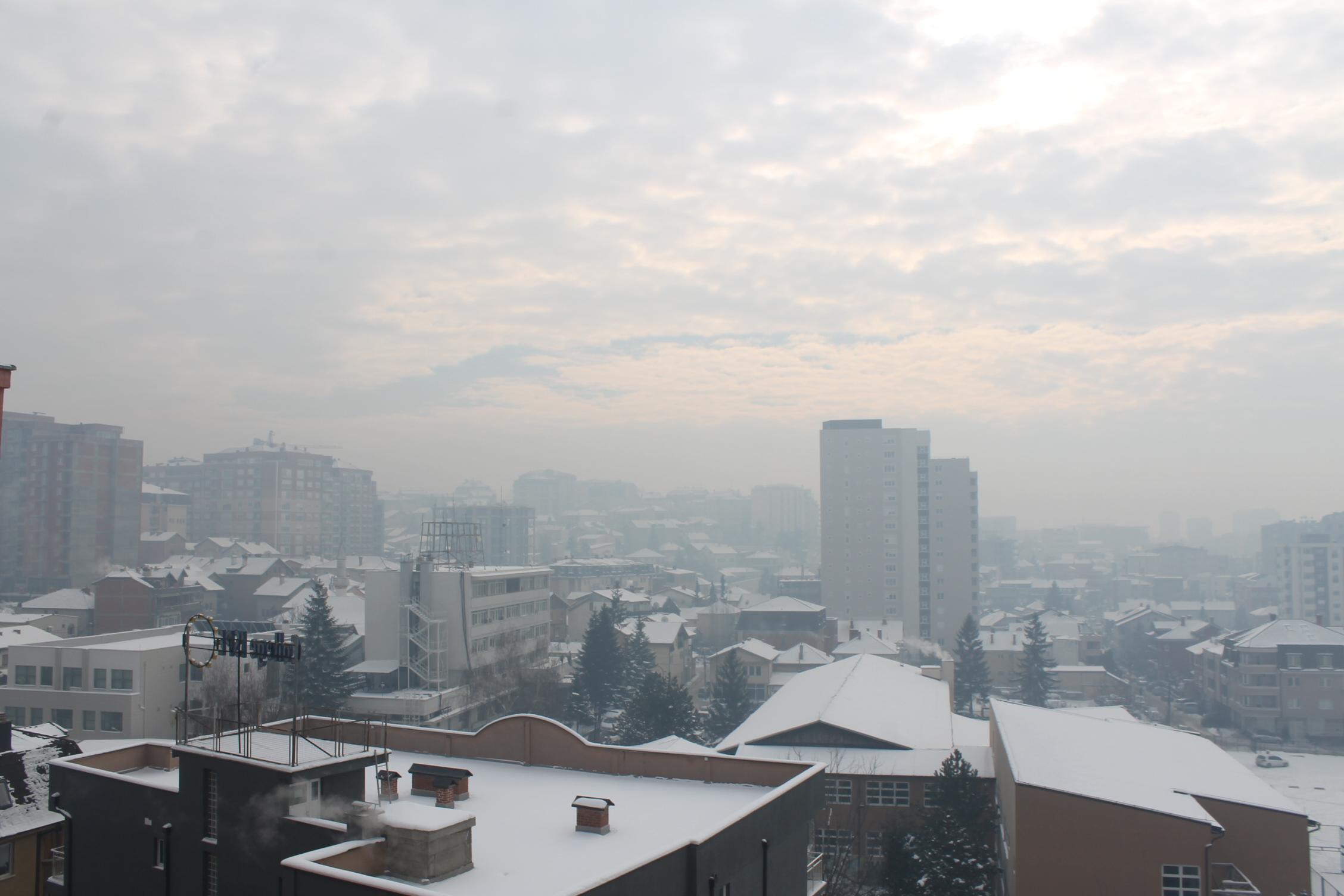 """""""Kjo është gjendja e ajrit në Prishtinë"""""""