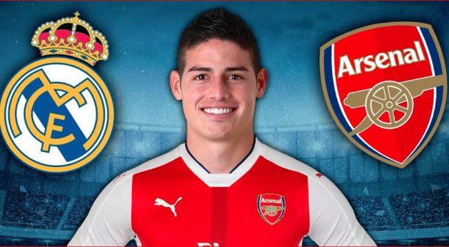 James te Arsenal, është punë e kryer
