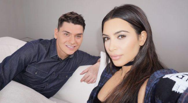 Kim Kardashian para 10 vitesh, grimeri shqiptar i saj ia publikon këtë foto