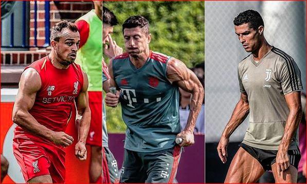 UEFA e krahason Shaqirin me Ronaldon dhe Lewandowskin