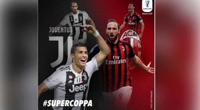 Juventus publikon listën e lojtarëve të ftuar ndaj Milanit në Superkupë