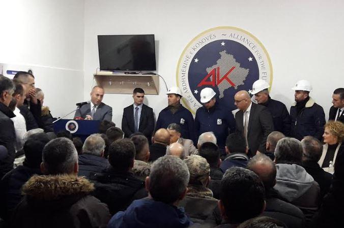 Minatorët kërkojnë nga Ramush Haradinaj të flasë me bordin e 'Trepçës'