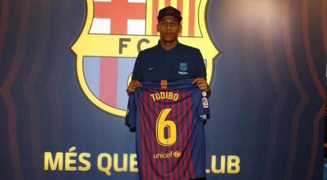 Todibo prezantohet tek Barca, numri 6 do të jetë në fanellën e tij
