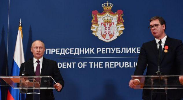 Vuçiq i kundërpërgjigjet Veselit në lidhje me njohjen e Kosovës nga Rusia