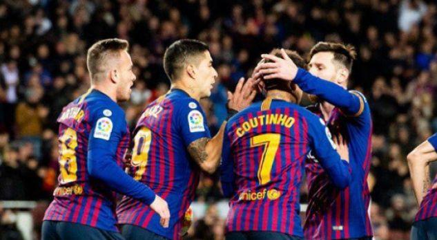 Barcelona në gjysmëfinale të Kupës, pasi e shkatërroi 6-1 Sevillën
