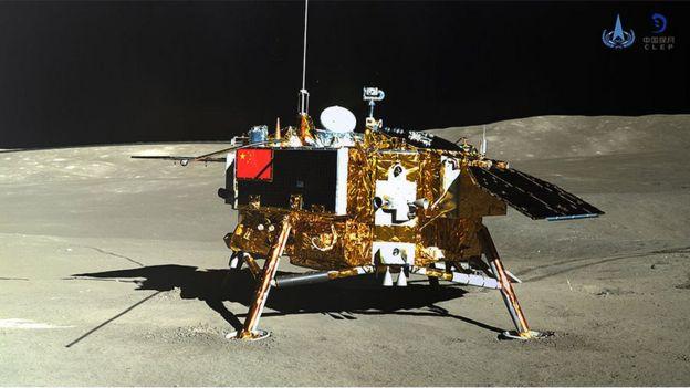 Farat e marra nga Toka mbijnë në Hënë
