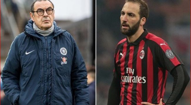 Trajneri i Chelsea flet për Higuainin