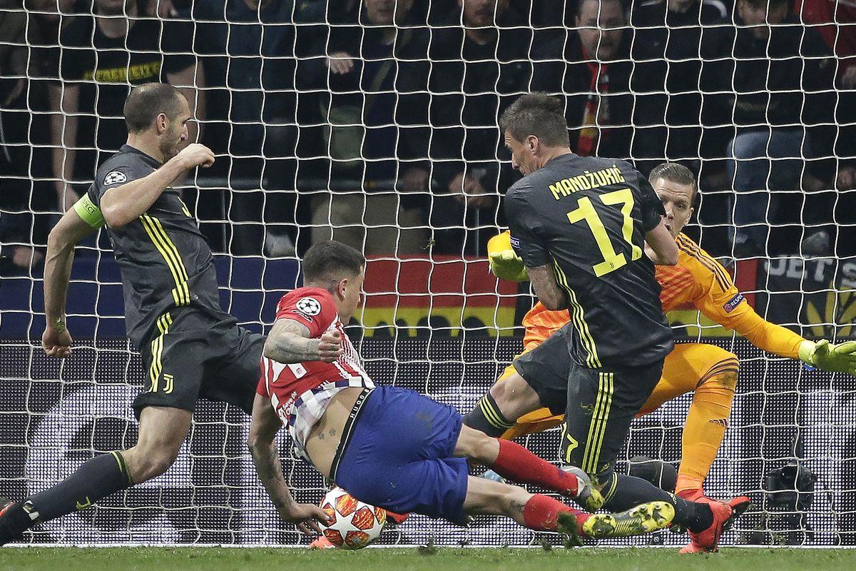 Atletico Madrid  -Juventus, kjo është karikatura e ditës
