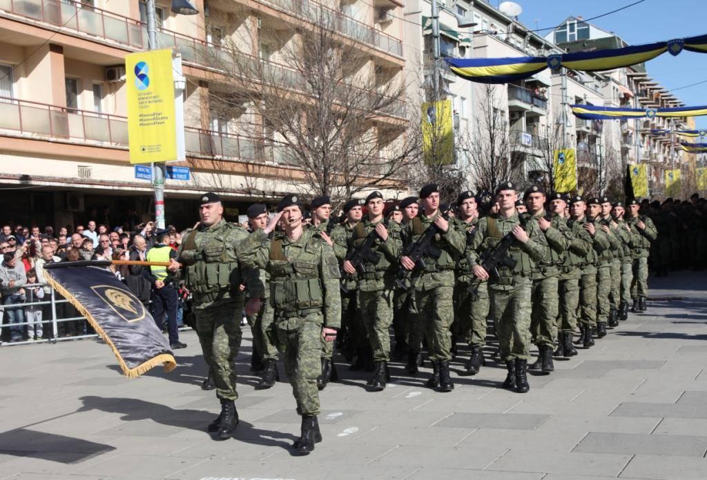 FSK parakalon për herë të parë si Ushtri e Kosovës