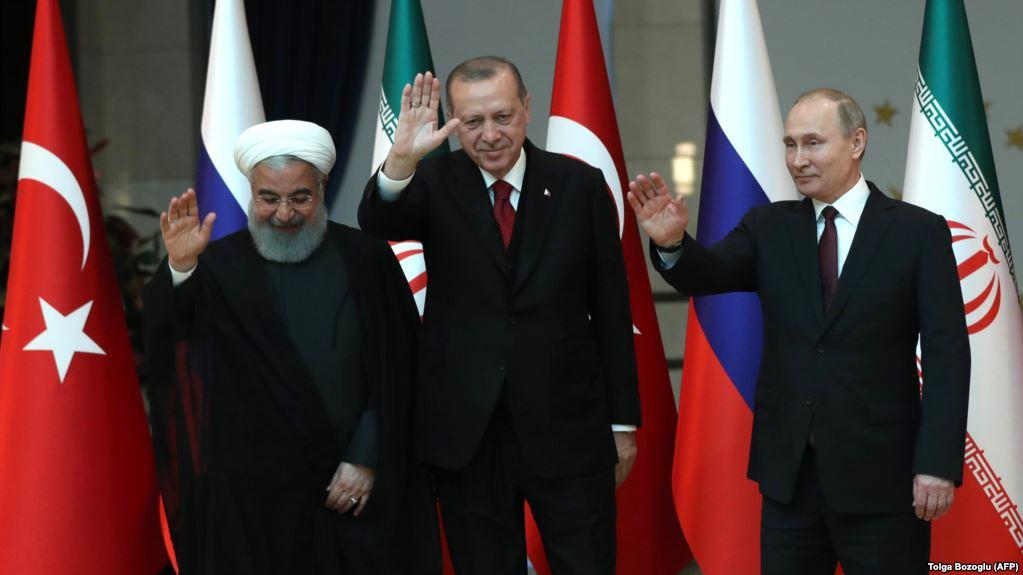 Putin, Erdogan dhe Rohani flasin për Sirinë