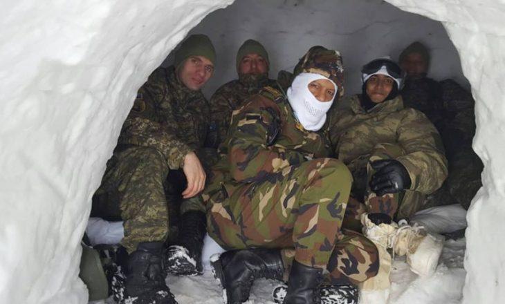 FSK pjesëmarrëse në ushtrimin fushor në Turqi
