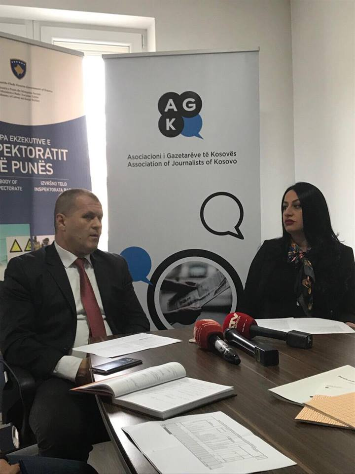 AGK dhe Inspektorati i Punës me nismë për mbrojtjen e të drejtave të gazetarëve