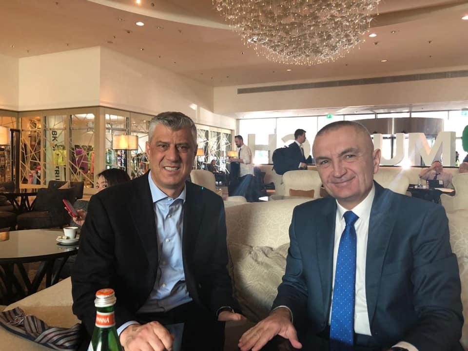 Thaçi në Gjermani takohet me presidentin e Shqipërisë, ja çka diskutuan