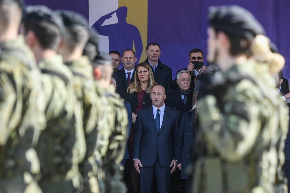 Haradinaj: Ushtria jonë është vlera më e qëndrueshme e Shtetit të Kosovës