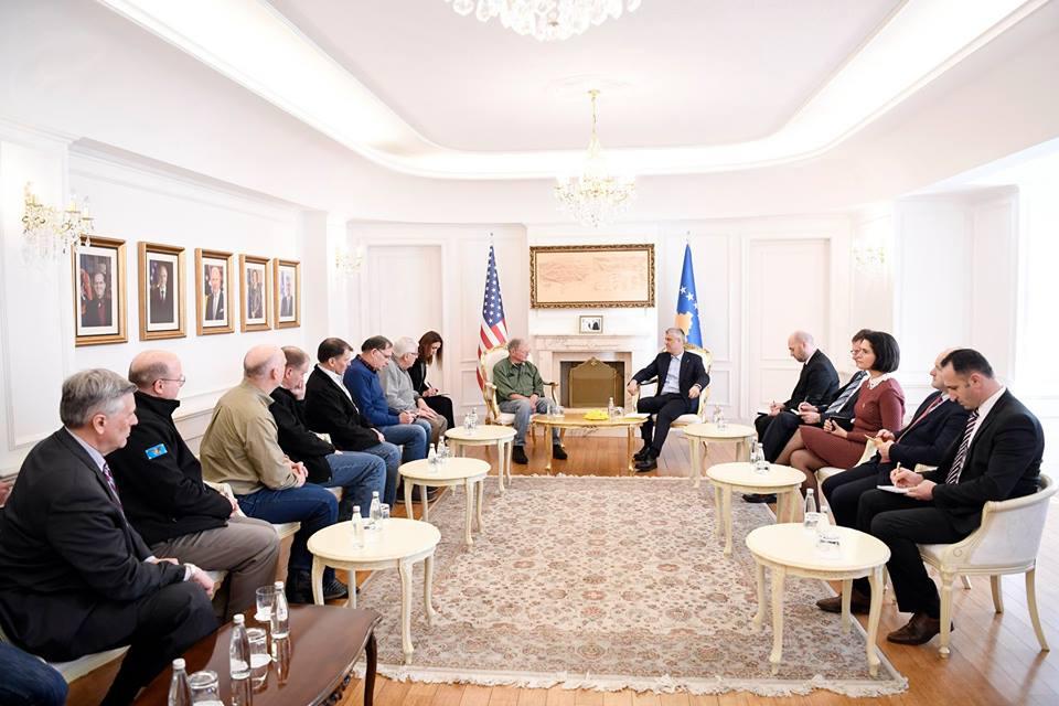 Thaçi takohet me senatorë dhe kongresistë amerikanë: Vizita juaj dëshmi e marrëdhënieve të shenjta SHBA-Kosovë