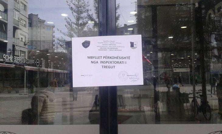 Inspektoriati i tregut mbyll disa markete në qendër të Mitrovicës