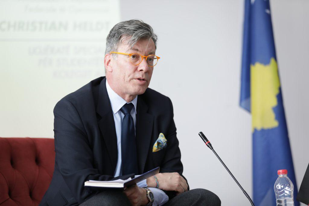 Ambasadori gjerman uron Kosovën: Gjermania do të vazhdoj të ecë me ju