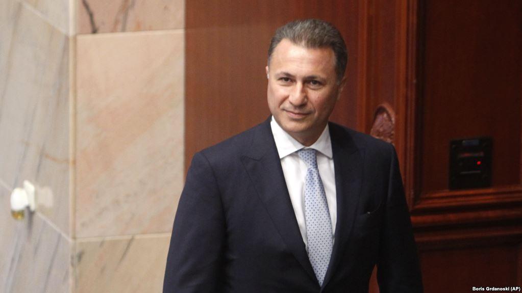 Gruevski tregon pse u largua në Hungari