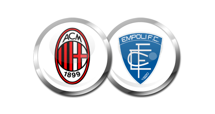 Milan – Empoli, formacionet zyrtare