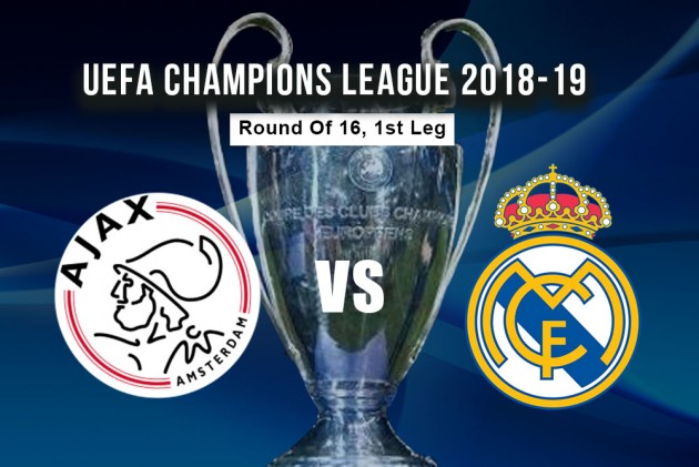 Ajax-Real Madrid, formacionet zyrtare