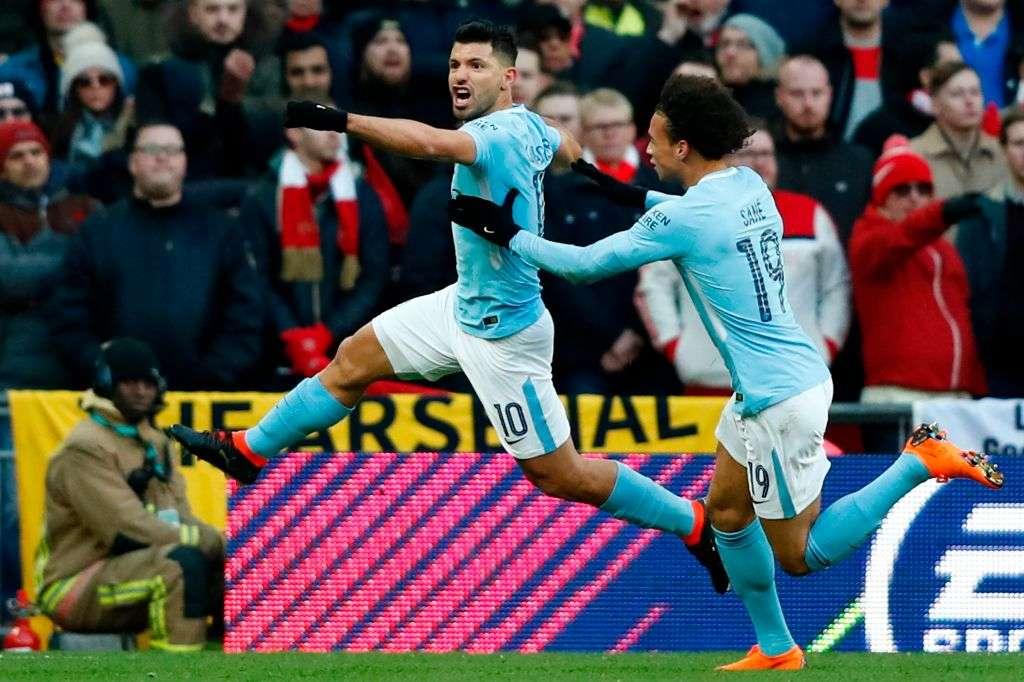 Ndeshja mes Cityt e Arsenalit nis me gol