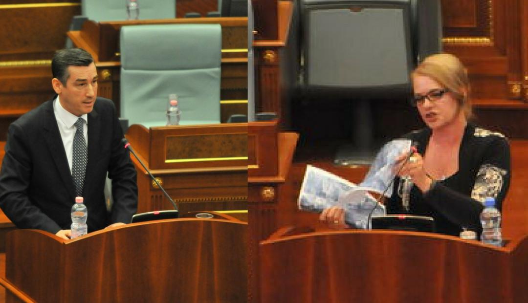 Deputetja e LDK-së replikon ashpër me Veselin